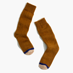 Fuzzy Trouser Socks