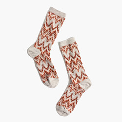 Chevron Trouser Socks