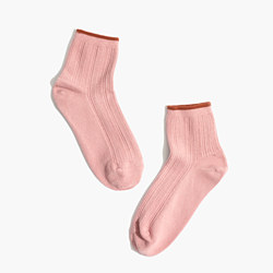 Cableknit Ankle Socks