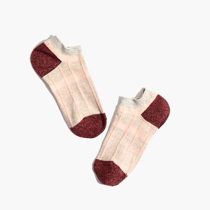 Plaid Anklet Socks