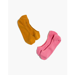 Two-Pack Ribbed Low-Profile Socks