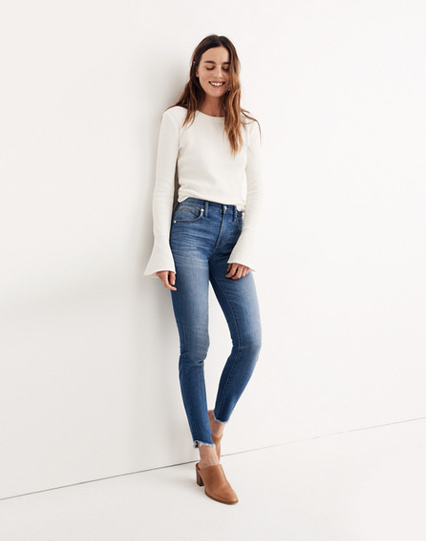 "10"" High-Rise Skinny Jeans: Tulip-Hem Edition"