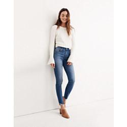 "Short 10"" High-Rise Skinny Jeans: Tulip-Hem Edition"