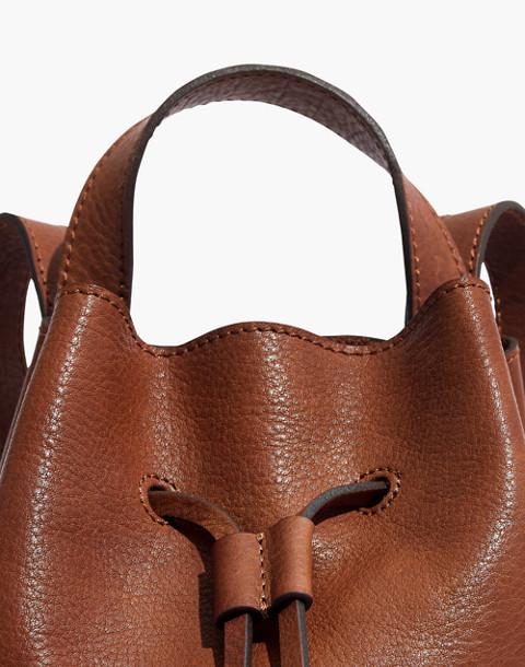 The Somerset Mini Backpack in english saddle image 4