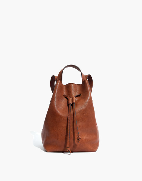 The Somerset Mini Backpack in english saddle image 1