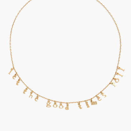 Let the Good Times Roll Charm Necklace
