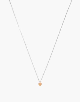 Vermeil Charm Chain Necklace in vermeil image 1