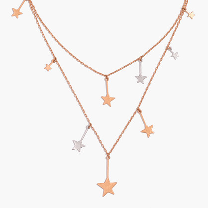 Stellar Star Layered Necklace
