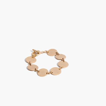 Disc Toggle Bracelet