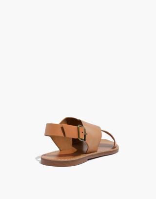 The Boardwalk Crossover Sandal in desert camel image 4