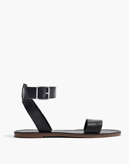 47ed60c7764c The Boardwalk Ankle-Strap Sandal in true black image 2