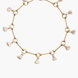 Tassel Link Necklace