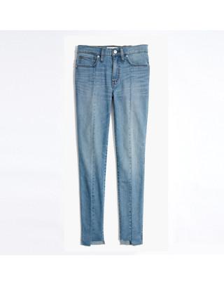 "9"" High-Rise Skinny Jeans: Seamed Step-Hem Edition"