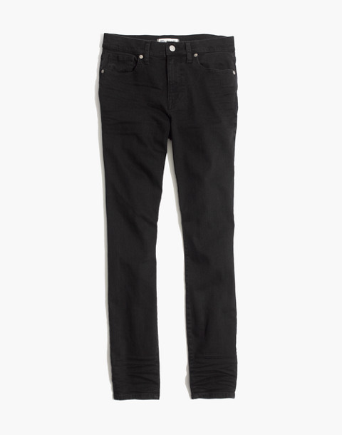 "Short 9"" High-Rise Skinny Jeans in Lunar"