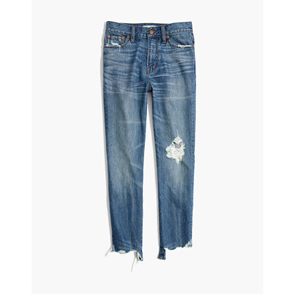 The Short Perfect Summer Jean: Destructed Edition