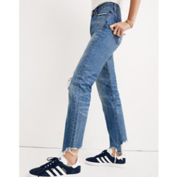 The Tall Perfect Summer Jean: Destructed Edition