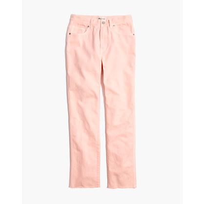 Garment-Dyed Straight-Leg Jeans