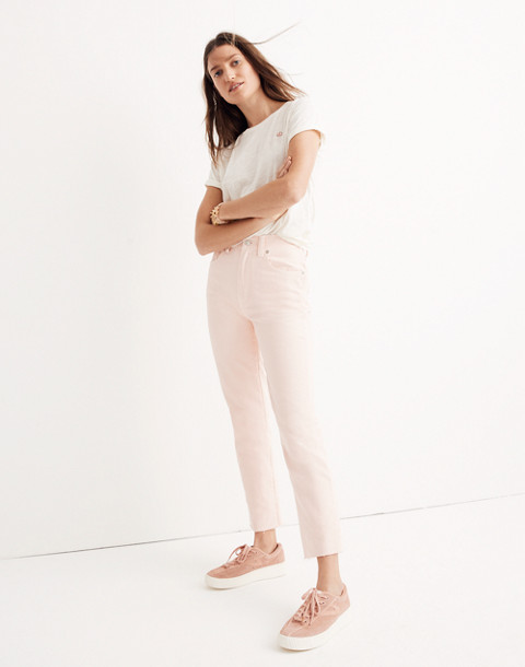 Garment-Dyed Straight-Leg Jeans