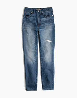 Rigid High-Rise Skinny Jeans in napa wash image 4