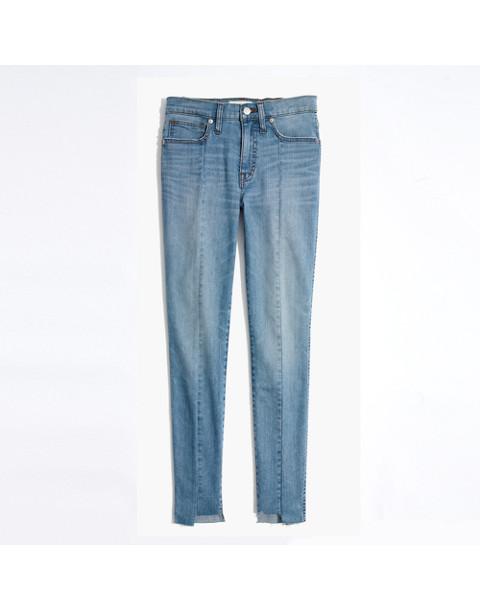 "Tall 9"" High-Rise Skinny Jeans: Seamed Step-Hem Edition"