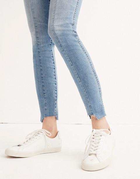 "Short 9"" High-Rise Skinny Jeans: Seamed Step-Hem Edition"