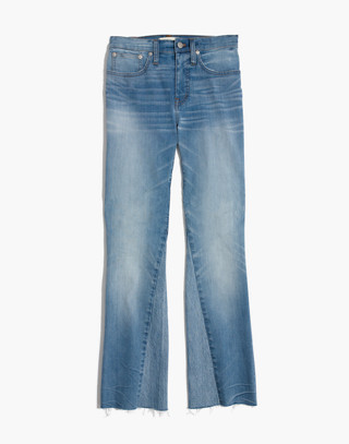 Cali Demi-Boot Jeans: Inset Edition