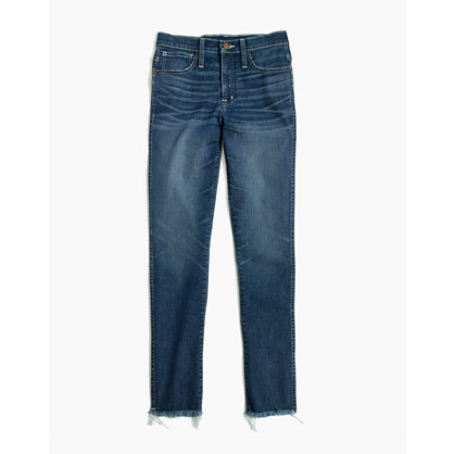 Tall Slim Straight Jeans: Raw-Hem Edition