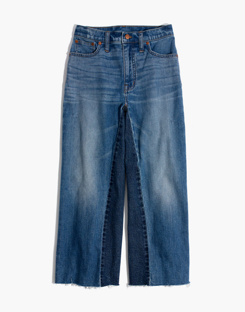 Tall Wide-Leg Crop Jeans: Gusset Edition