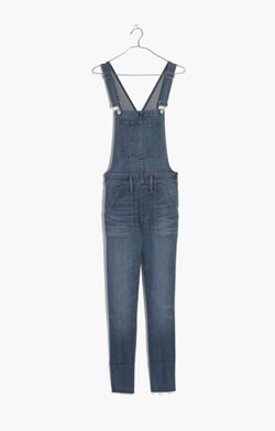 Skinny Overalls in Kemp Wash