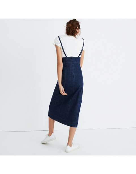 Denim Cami Midi Dress