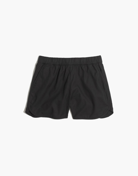 Pull-On Shorts in almost black image 1