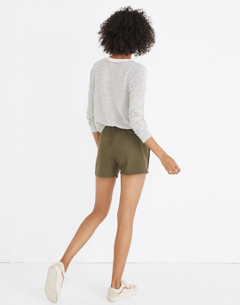 Pull-On Shorts in birch leaf image 2