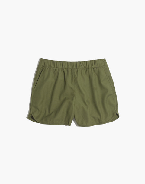 Pull-On Shorts in birch leaf image 4