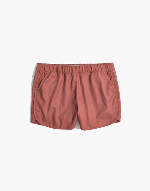 Pull-On Shorts in autumn berry image 1