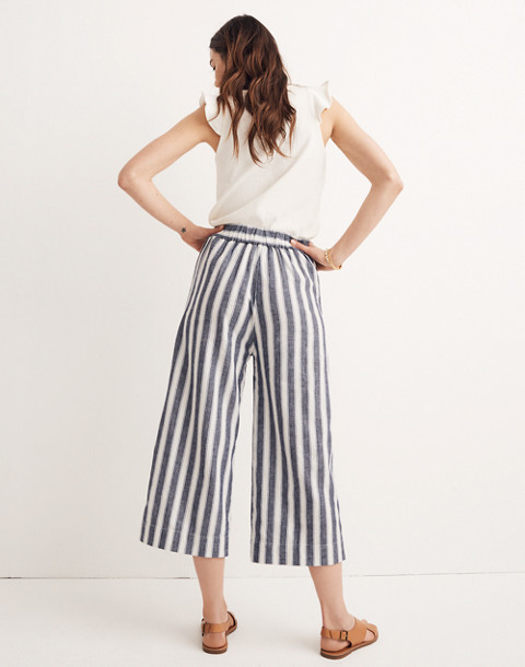 7a4bd5c91a Huston Pull-On Crop Pants in Stripe