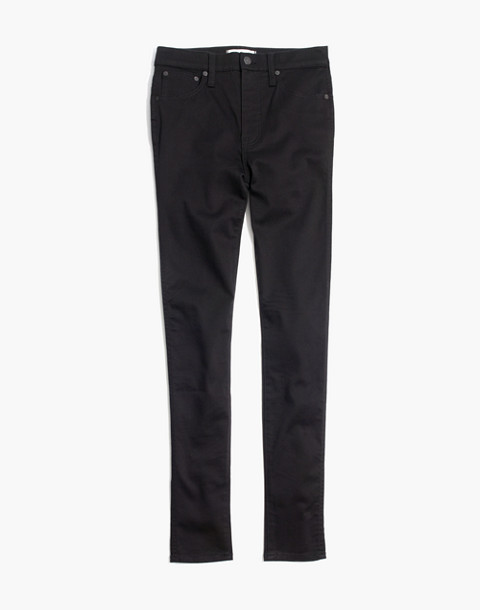 "Petite 10"" High-Rise Skinny Jeans in Carbondale Wash"