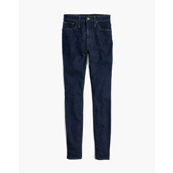 Taller Curvy High-Rise Skinny Jeans in Lucille Wash