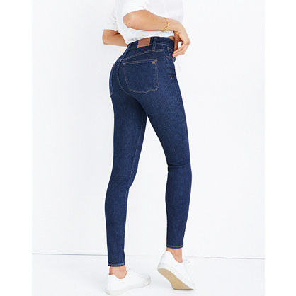 Curvy High-Rise Skinny Jeans in Lucille Wash