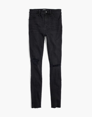 Tall Curvy High-Rise Skinny Jeans in Black Sea