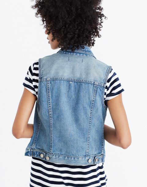 The Jean Vest in Albert Wash in albert image 2