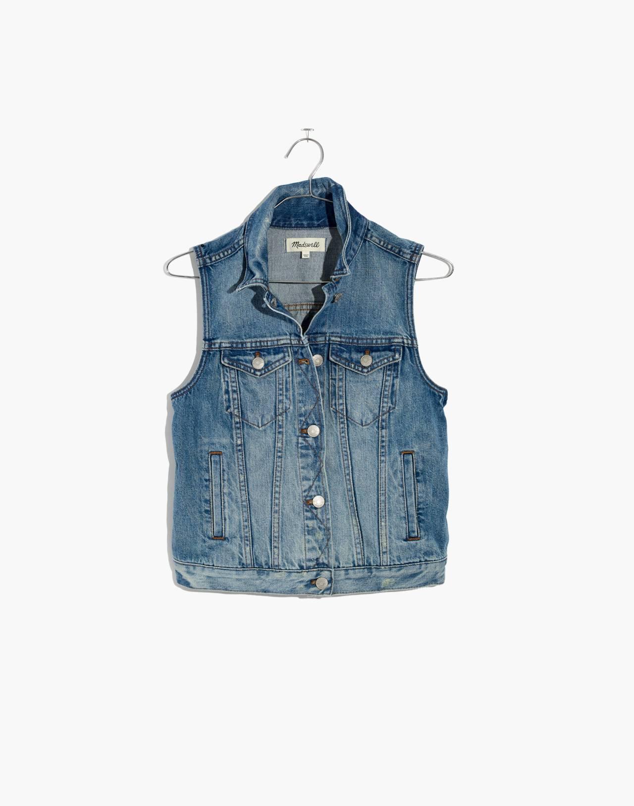 The Jean Vest in Albert Wash in albert image 4