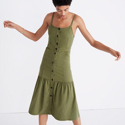 Bayview Tiered Midi Dress