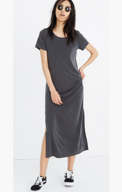 Sandwashed Maxi Tee Dress