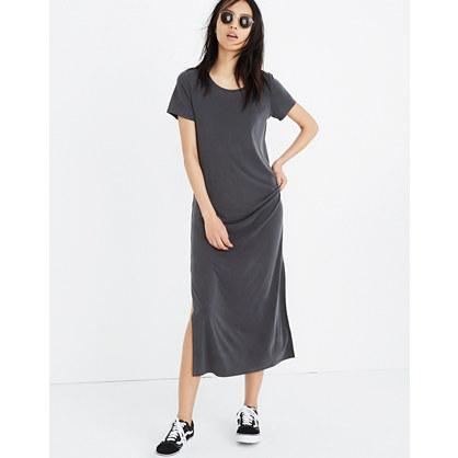 Sandwashed Maxi Tee Dress