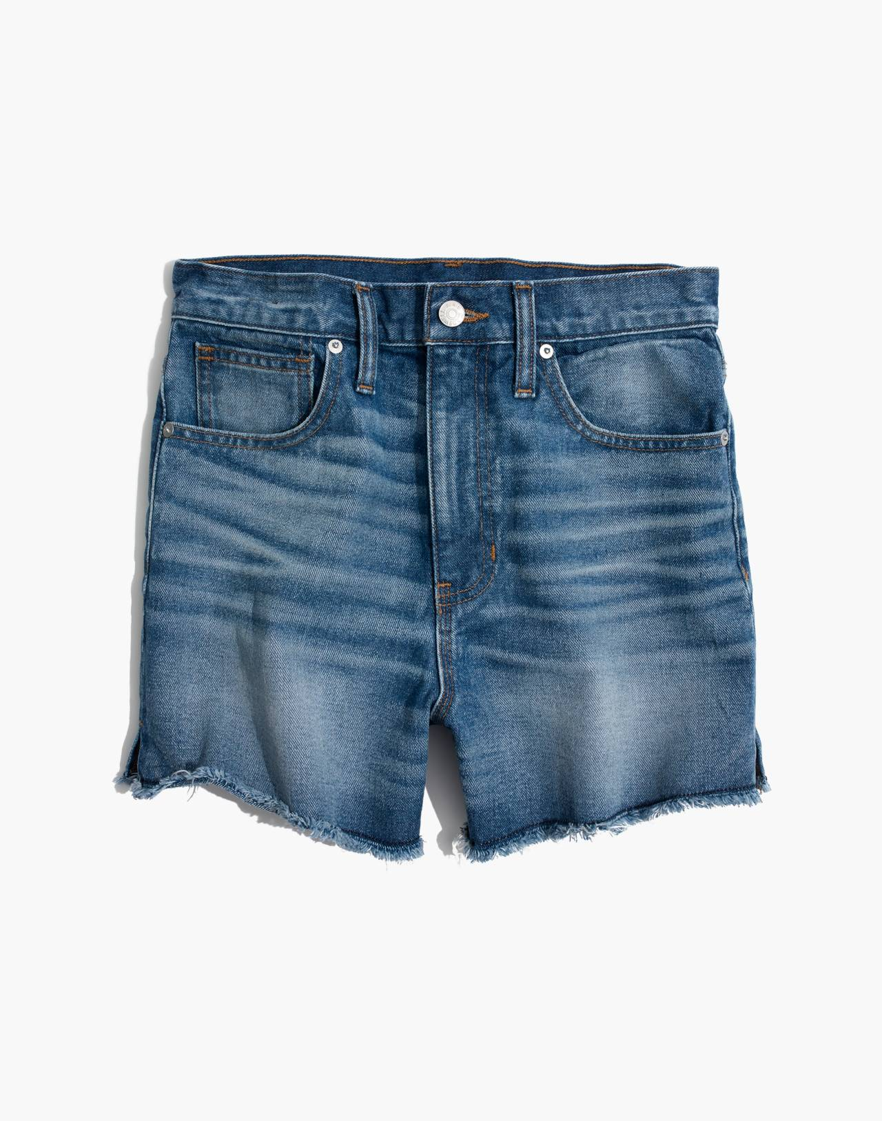 The Perfect Jean Short in Butler Wash in butler wash image 4