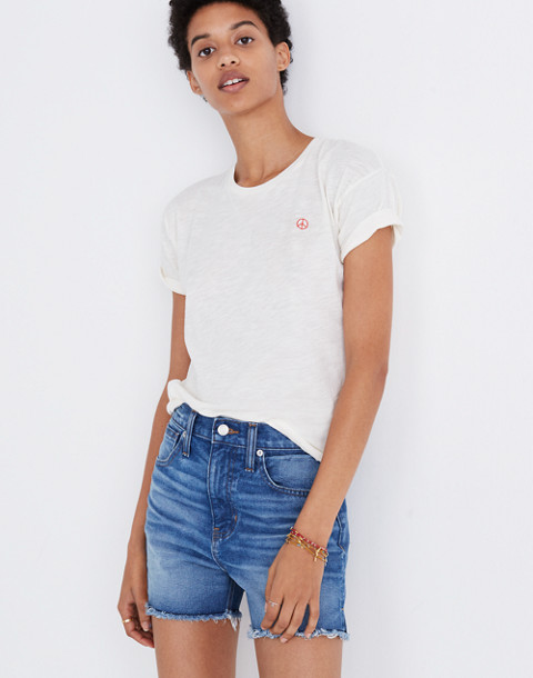 The Perfect Jean Short in Butler Wash in butler wash image 1