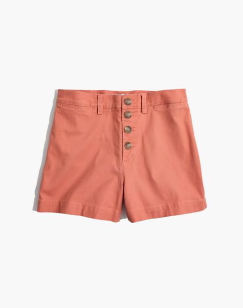Emmett Button-Front Shorts
