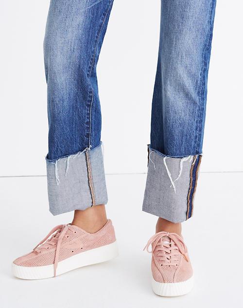 Tretorn® Nylite Bold III Perforated Platform Sneakers