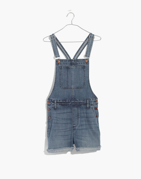 Adirondack Short Overalls in Dawkins Wash