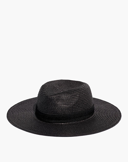 492830706 Packable Mesa Straw Hat in bk5229 image 1